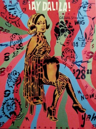 Ay Dalila!|PinturadeCarlos Madriz| Compra arte en Flecha.es