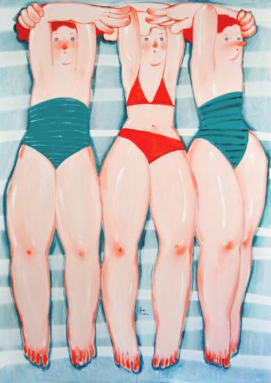 SUNNY|PinturadeYana Medow| Compra arte en Flecha.es