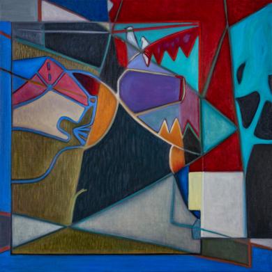 Two Birds on a Wire|PinturadeHelena Revuelta| Compra arte en Flecha.es