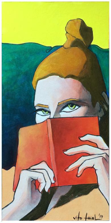 Libro IlustracióndeVito Thiel  Compra arte en Flecha.es