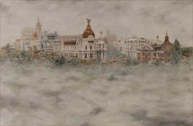 La Metrópoli Nieblada|FotografíadeCarlos Arriaga| Compra arte en Flecha.es