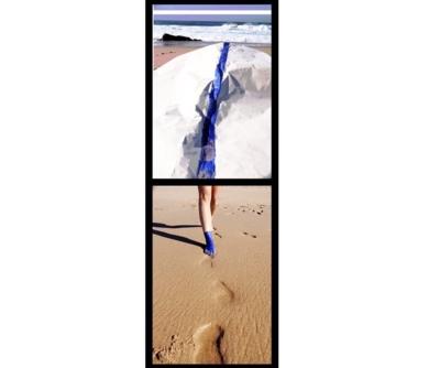Cuerpo raro en azul marino 1 & 2|DigitaldeLisa| Compra arte en Flecha.es
