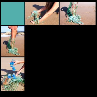 Cuerpo raro en verd d'agua|DigitaldeLisa| Compra arte en Flecha.es