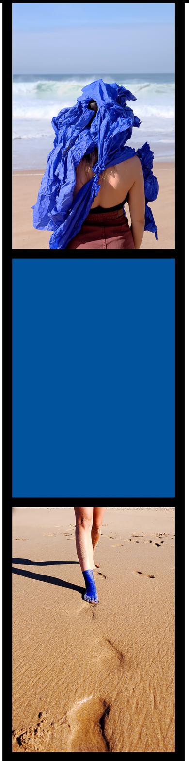Cuerpo raro en azul cobalto #2|DigitaldeLisa| Compra arte en Flecha.es