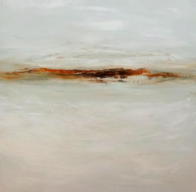 Como la luz del invierno encuentra su camino hacia el cielo III|PinturadeEsther Porta| Compra arte en Flecha.es