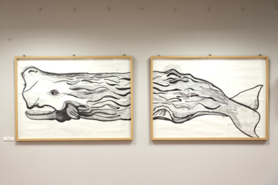 Cachalote|DibujodeLisa| Compra arte en Flecha.es