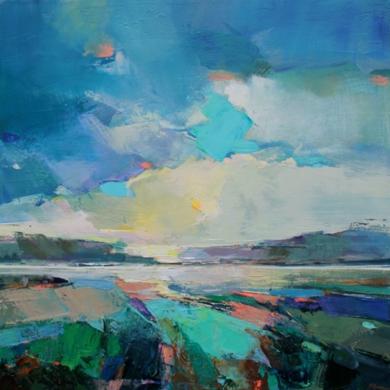 Along The Estuary 6|PinturadeMagdalena Morey| Compra arte en Flecha.es