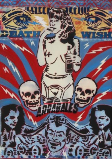 Dry Blood II (Arrabales)|PinturadeCarlos Madriz| Compra arte en Flecha.es