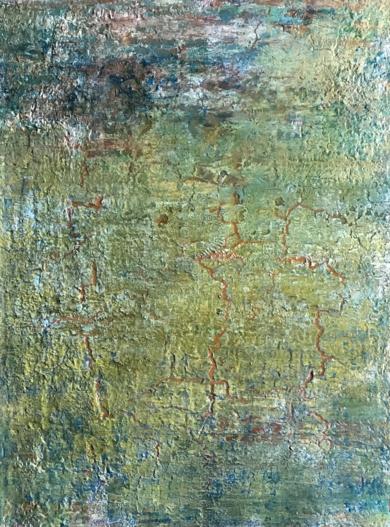Paisaje matérico|PinturadeEnric Correa| Compra arte en Flecha.es