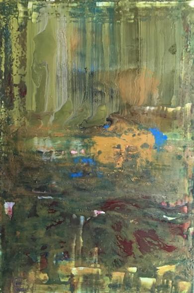 Paisaje abstracto|PinturadeEnric Correa| Compra arte en Flecha.es
