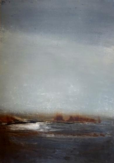 Como la luz del invierno encuentra su camino hacia el cielo IV|PinturadeEsther Porta| Compra arte en Flecha.es