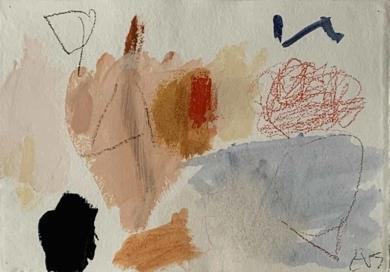 Atraido por el rojo|PinturadeEduardo Vega de Seoane| Compra arte en Flecha.es