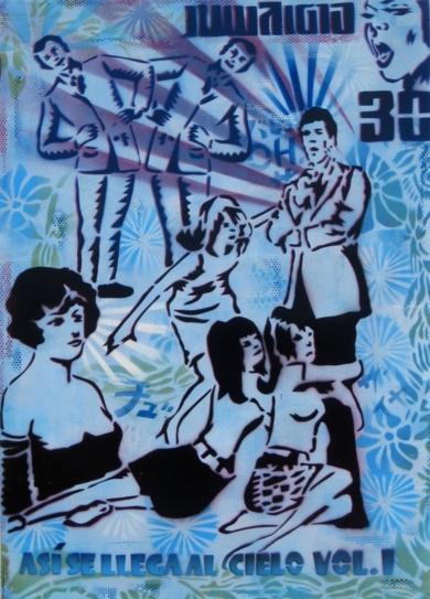 Así  Se  Llega  Al  Cielo|PinturadeCarlos Madriz| Compra arte en Flecha.es