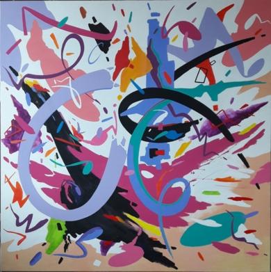 WALTZ  NO 2  SHOSTAKOVICH|PinturadeValeriano Cortázar| Compra arte en Flecha.es