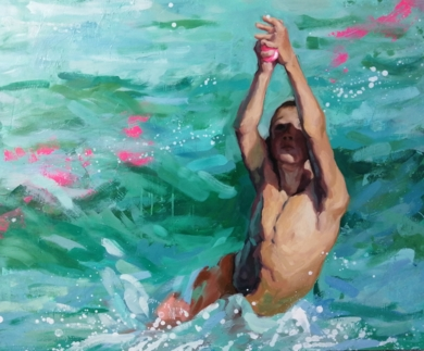 Cógela|PinturadeTeresa Infiesta| Compra arte en Flecha.es