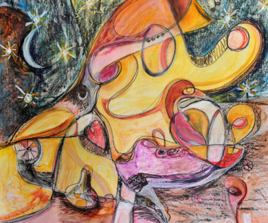 Hiperrealidad - curvisme 410|PinturadeRICHARD MARTIN| Compra arte en Flecha.es