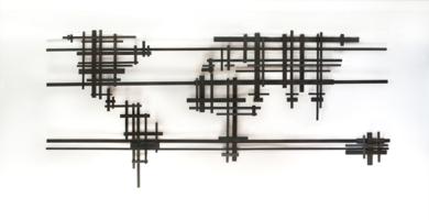 MAPA MUNDI XXV|Escultura de pareddeMaría Hervás| Compra arte en Flecha.es
