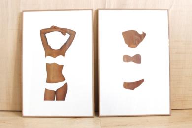 El molde y su huella II|CollagedeAdriana Gurumeta| Compra arte en Flecha.es
