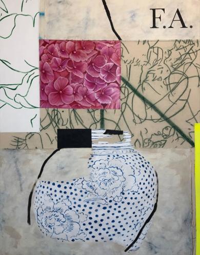 Floral Arrangement n.14|PinturadeNadia Jaber| Compra arte en Flecha.es