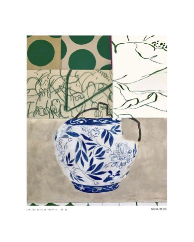 Floral Arrangement n.3 -  Edición limitada de 30  Glicée Prints|Obra gráficadeNadia Jaber| Compra arte en Flecha.es