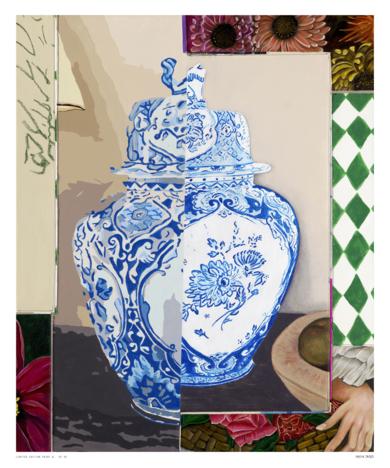 Floral Arrangement n.11 - Edición limitada de 30 Glicée Prints|Obra gráficadeNadia Jaber| Compra arte en Flecha.es