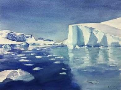 Ice|PinturadeChela Grijelmo| Compra arte en Flecha.es