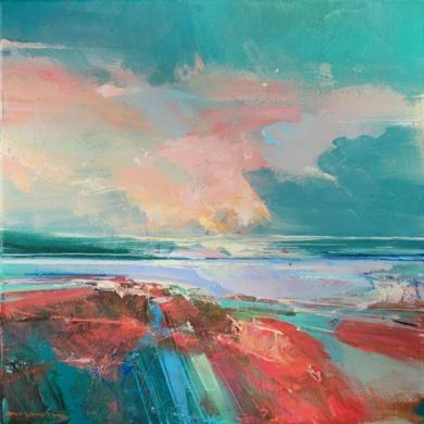 Rose Washed Sands 1 (Arenas rosadas)|PinturadeMagdalena Morey| Compra arte en Flecha.es
