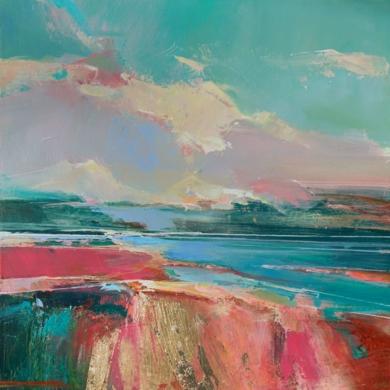 """Rose Washed Sands 2 (Arenas rosadas)""|PinturadeMagdalena Morey| Compra arte en Flecha.es"