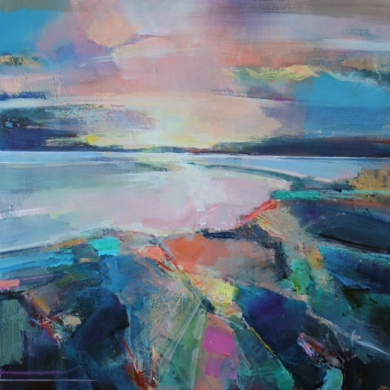 Along The Estuary 2|PinturadeMagdalena Morey| Compra arte en Flecha.es