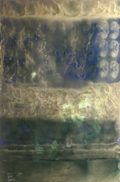 Seis caballitos de mar|PinturadeEnric Correa| Compra arte en Flecha.es
