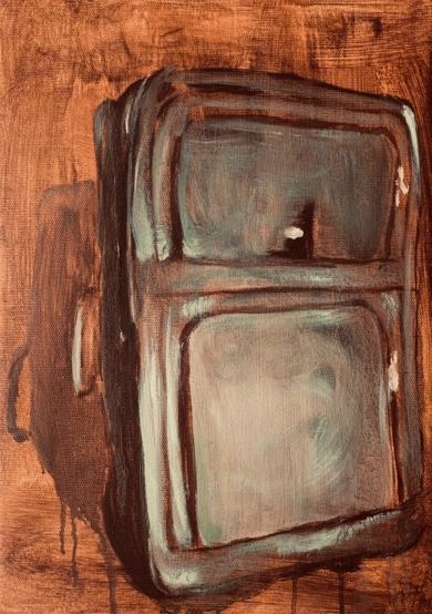A alma da mala|PinturadeODETTE BOUDET| Compra arte en Flecha.es