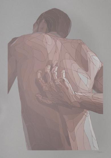 Ráscame donde no llego III|PinturadeTaquen| Compra arte en Flecha.es