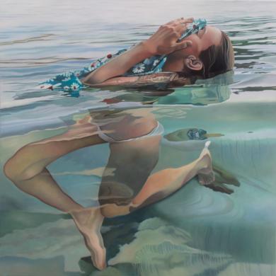Petó de peix|PinturadeJosep Moncada| Compra arte en Flecha.es