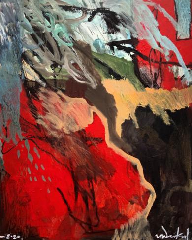 Pentimento - La sombra del albero|PinturadeNoël G. González-Vanderkrul| Compra arte en Flecha.es