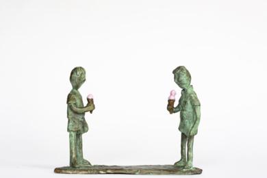 Helados de cucurucho|EsculturadeAna Valenciano| Compra arte en Flecha.es
