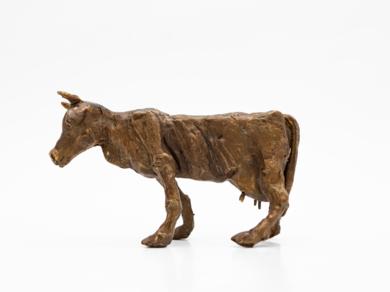 Vaca famélica. Serie Granja famélica|EsculturadeAna Valenciano| Compra arte en Flecha.es