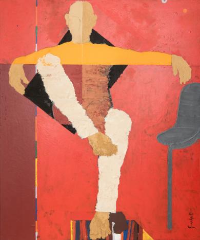 Descanso Cromático|PinturadeLuis Granda| Compra arte en Flecha.es