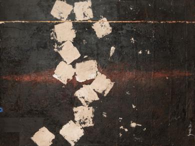Huida Geometrica|PinturadeLuis Granda| Compra arte en Flecha.es