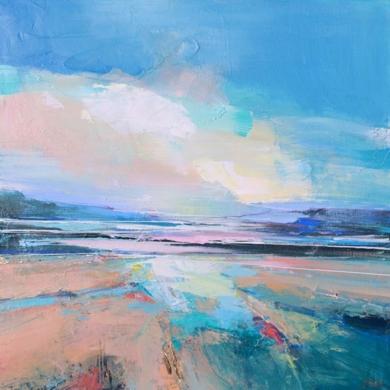 Winter Sky 1|PinturadeMagdalena Morey| Compra arte en Flecha.es