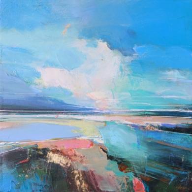 Winter Sky 2|PinturadeMagdalena Morey| Compra arte en Flecha.es