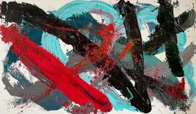 AGUA DESPIERTA|PinturadeALFREDO MOLERO DOVAL| Compra arte en Flecha.es