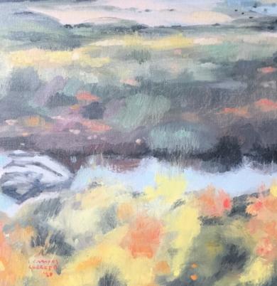 Río Guadalmina|PinturadeCarmen Campos-Guereta| Compra arte en Flecha.es