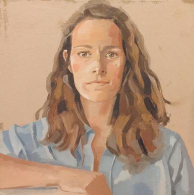 Autorretrato|PinturadeCarmen Campos-Guereta| Compra arte en Flecha.es