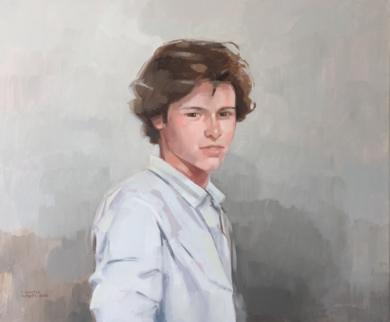 Sergio|PinturadeCarmen Campos-Guereta| Compra arte en Flecha.es