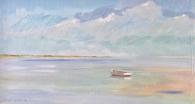 La barca|PinturadeCarmen Campos-Guereta| Compra arte en Flecha.es