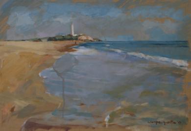 Faro|PinturadeCarmen Campos-Guereta| Compra arte en Flecha.es