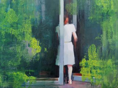 Abriendo puertas|PinturadeCarmen Montero| Compra arte en Flecha.es