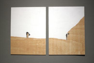 Paisaje vs vacío|CollagedeAdriana Gurumeta| Compra arte en Flecha.es