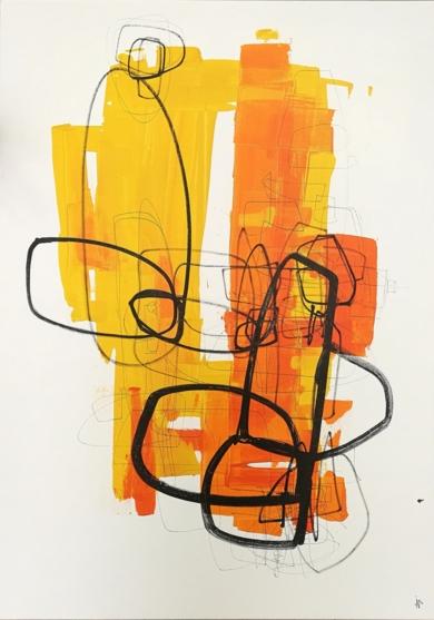 CONCIERTO EN DO MENOR|PinturadeIVÁN MONTAÑA| Compra arte en Flecha.es