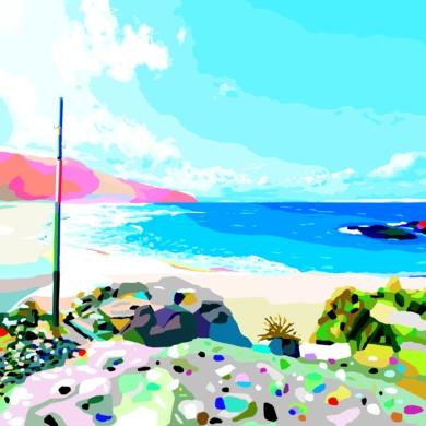 Playa de Doniños|Obra gráficadeALEJOS| Compra arte en Flecha.es